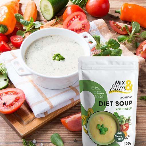 Dietní polévka zeleninová