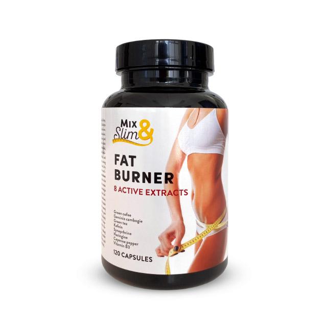 Levně Mix Slim Spalovač tuků Fat burner 120 kapslí